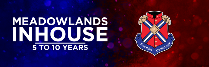 The season is due to start on 7th May 2022 and run through school term 2 and 3. The Meadowlands Inhouse season is for boys and girls who are turning 5 years in 2022 to 10 years old.